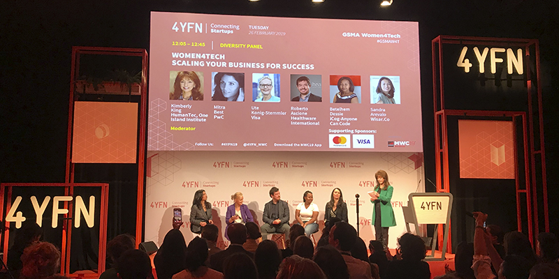 """We participated in """"Women4Tech: Scaling your Business for Success"""" at 4YFN"""
